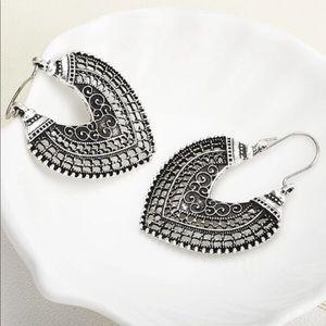 Vintage look Tibetan earrings